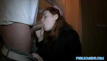 Publicagent Redhead Humped In The Boiler Apartment