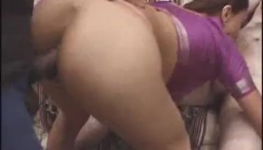 Disrobed Indian Babe Boned In A Three Way