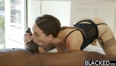 Blacked stylish wifey jade nile likes big black cock