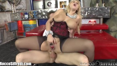Roccosiffredi thick innate globes and anal invasion orgy