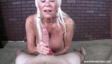 granny blowjob xxx cuckold creampie sex