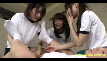 Jav teenage idols penetrate a dude in the booty with strap-on handle him raunchy shame