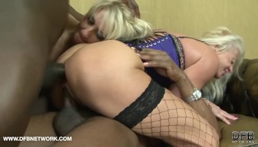 Towheaded matures facials and drink in xxx multiracial gang fuckfest