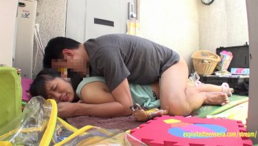 Puny jav college girl inamura smashed on roof top by hunter flawless teenager