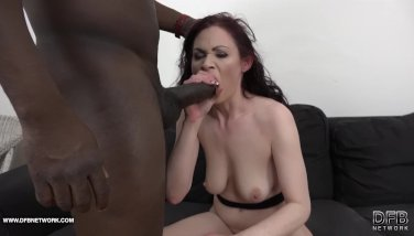 Stepmom in hard-core ebony ass fucking gets rump poked and cooter ate
