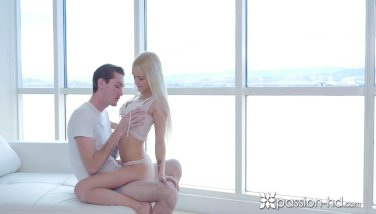 Passionhd towheaded alex grey drilled in a high rise with facial cumshot