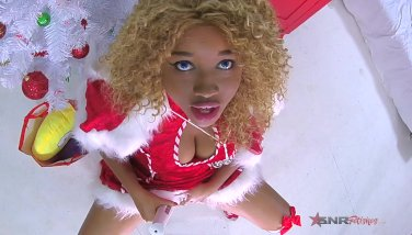 All i want for chrismas is one phat climax  marvelous nina rivera