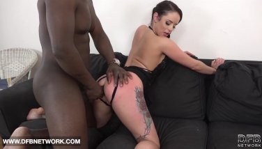 Mature honey gets coochie and buttfuck drilled and creampied in hard-core pornography movie
