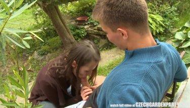 Personal czech garden soiree