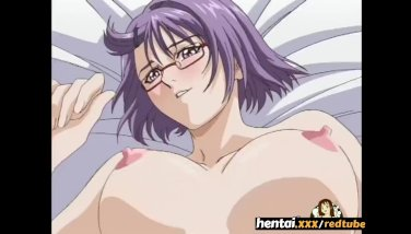 Nerdy nymph with glasses takes it secretly at the beach  hentaixxx