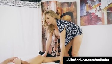 Step Mother Mummy Julia Ann Gets A Fountain On Her Face By Step Son