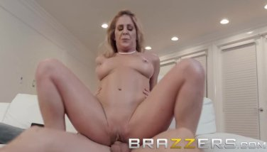 Brazzers  step mother cherie deville showcases son some support