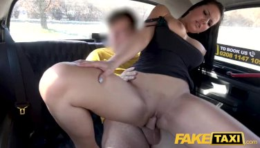Faux taxi fantastic phat breasts german lusts for phat schlong taxi hook-up on roadside