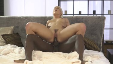 Black4k. adorable karol lilien gets culo coated with jism thanks to big black cock