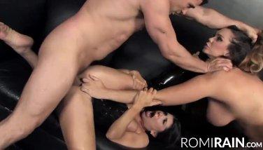 Crushgirls  romi rains hottest moments compilation