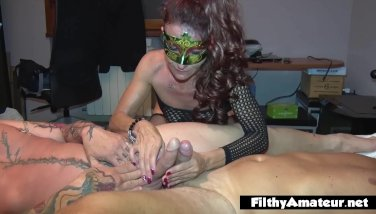 Real sex with priest and 2 ultra-kinky wives