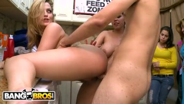 Bangbros  school orgy tear up bros fashion with alexis texas and pals